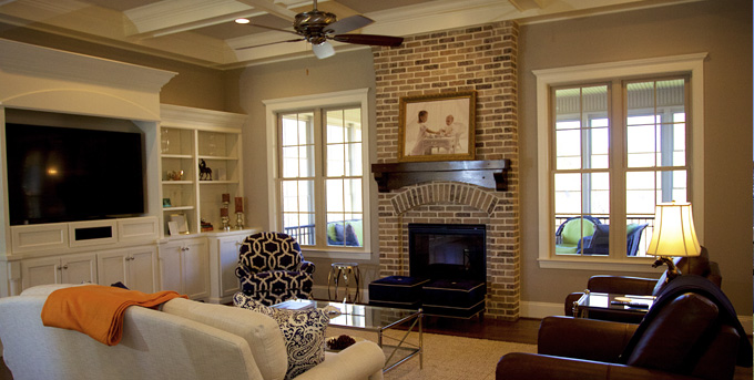 Custom Living Room, Brookberry Farms